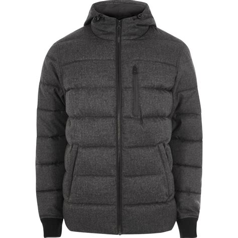Hooded Puffer Jacket big and grey hooded puffer jacket coats jackets