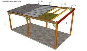lean to carport build a lean to carport