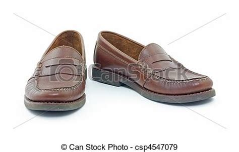 penny loafers for men clip art stock photographs of leather penny loafers front view of