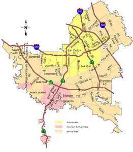 Map Of San Jose Area by Sjwc Service Area Map District 5 United