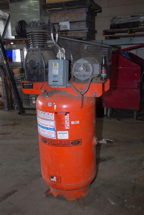 devilbiss tapv 5052 vertical air compressor 175psi 5hp 460v 3 phase inv 25355 ebay