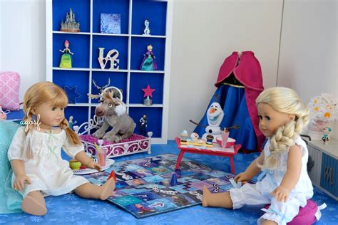 how to make a american girl doll bedroom american girl doll disney frozen anna s bedroom featuring