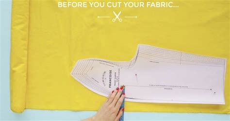 sewing pattern explained 17 best images about sew basics fabric grain explained on