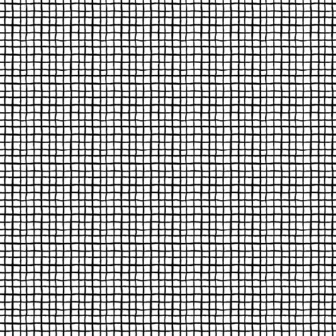 black and white grid pattern fabric black and white grid simple painted lines small mini