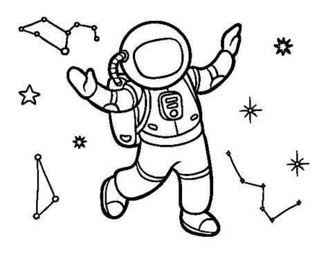 del dibujo infantil a 8416772037 dibujo de un astronauta en el espacio estelar para colorear dibujos net