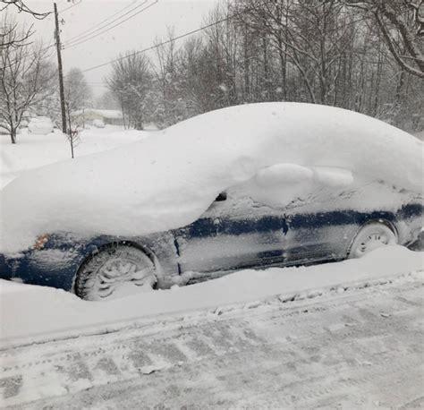 Records Erie Pa Photos Record Breaking 60 Inch Snowfall Blankets Erie Pennsylvania