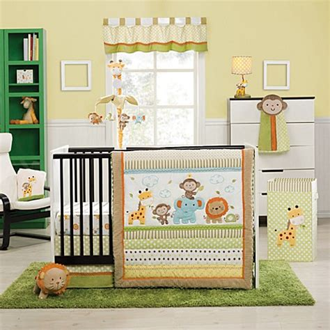 jungle nursery bedding sets buy kidsline safari 4 crib bedding set from bed bath beyond