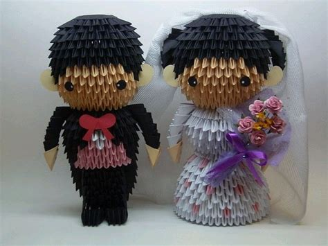 3d Origami And Groom - 17 best images about wedding on papercraft 3d