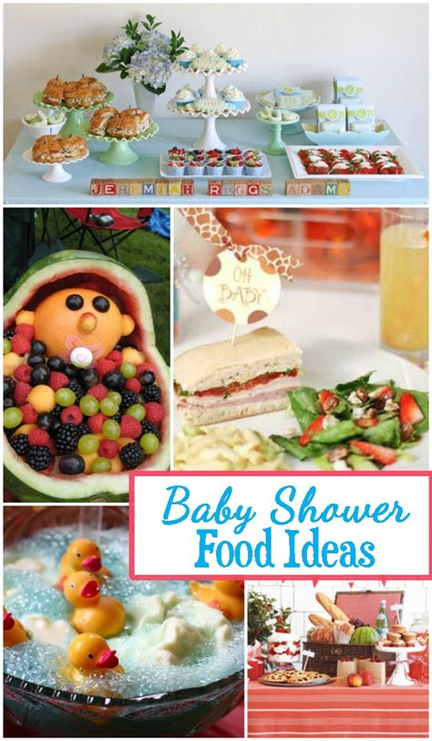 Baby Shower Food Ideas by Baby Shower Food Ideas Design Dazzle