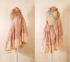 shabby chic dress in pastel gingham by mynoush on deviantart
