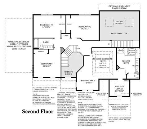 columbia floor plans alexandria estates the columbia ii home design