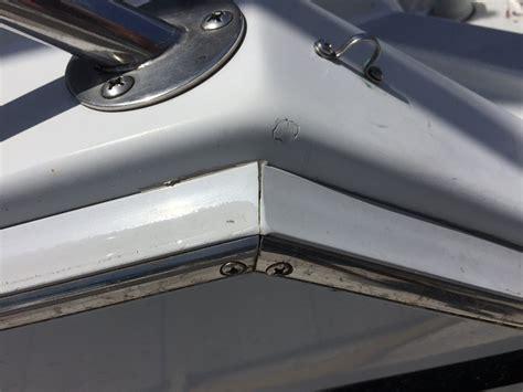 boat rub rail images rub rail id the hull truth boating and fishing forum