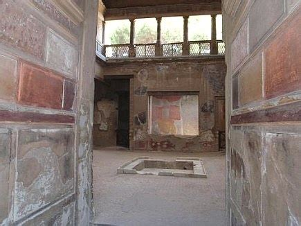 a pattern language for houses at pompeii herculaneum and ostia herculaneum samnite house herculaneum samnite house
