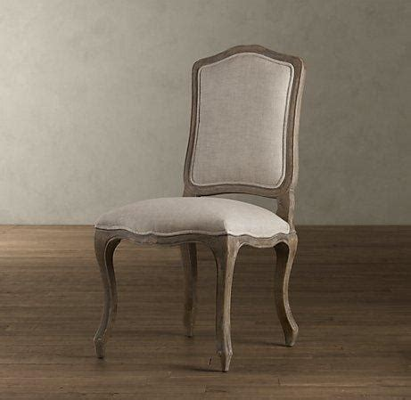 vintage camelback upholstered side chair dining