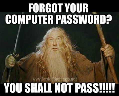 You Shall Not Pass Meme - you shall not pass meme by borgster93 on deviantart