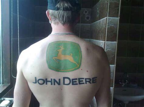 john deere tattoos deere coulor