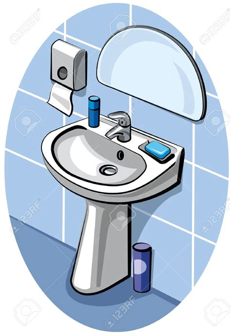 how to clean mirrors in bathroom mirror clipart cleaning bathroom pencil and in color