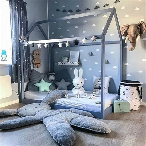 hausbett 90x200 image de baby baby room and nursery dado