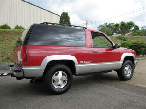 1994 Chevy Tahoe 2 Door by 1994 Chevrolet Tahoe Blazer Sport Fullsize 2 Door 4wd