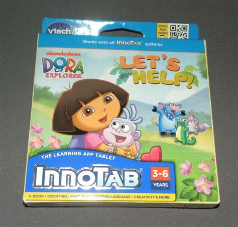 Innotab 2 3 Dora The Explorer Let S Help Game Software E