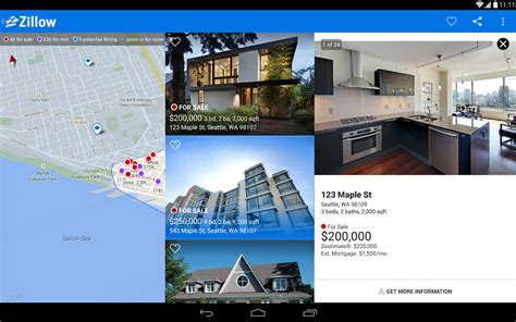 zillow real estate rentals apk free android app