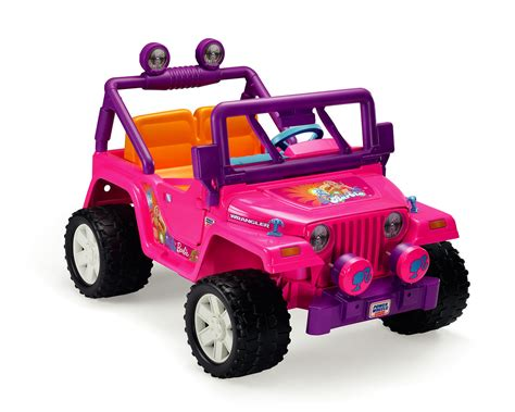 Cruisin Tunes Jeep Battery Pink Jeep