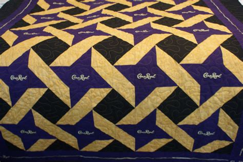 crown royal quilt made to order quilt customizable