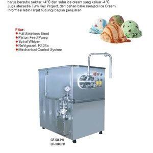 Jual Freezer Es Krim Bekas jual continuous freezer mesin pembuat es krim