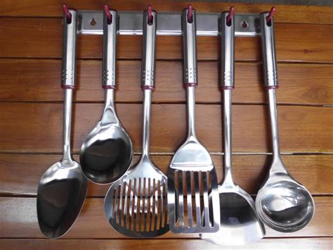 kitchen set spatula stainless steel istanamurah