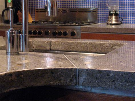 How To Make Concrete Kitchen Countertops by Home Dzine Kitchen Install Diy Concrete Countertops