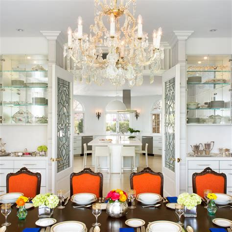 Glass Chandeliers For Dining Room 10 Chandeliers That Are Dining Room Statement Makers Hgtv S Decorating Design Hgtv