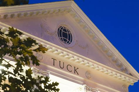 Mba Tuck Ranking by Tuck School Of Business Tuck Faculty Appointed To New