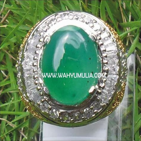 Batu Akik Permata Hijau Garut Asli batu permata hijau garut sold batu permata
