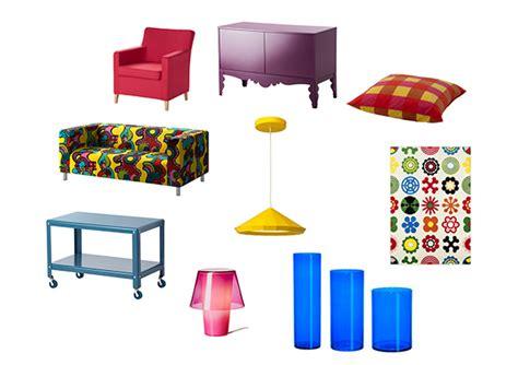 Perabot Ikea cuba lari daripada warna warna selamat