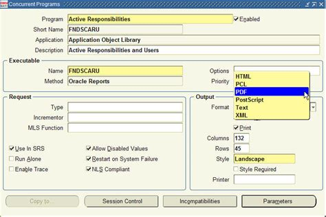 how to format reports with the layout view in ms access printing reports in pdf format with oracle applications