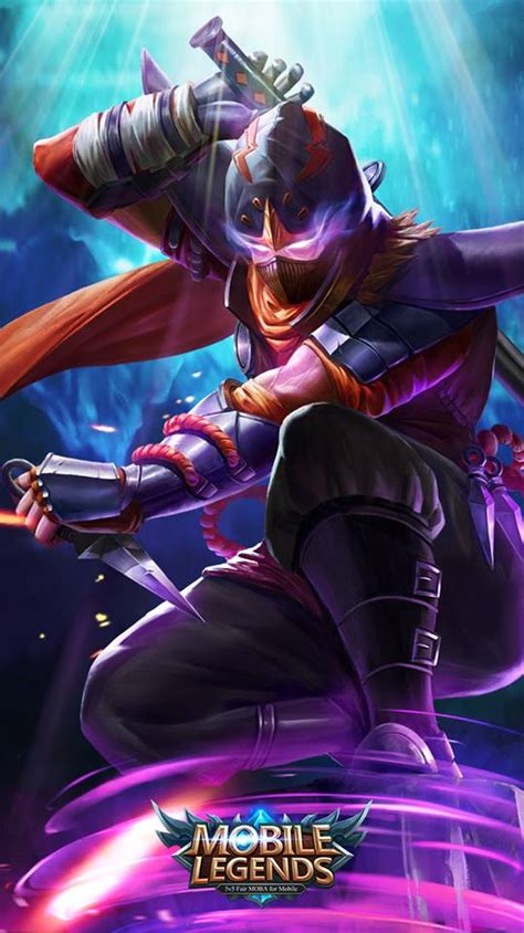 Wallpaper Mobile Legend Hayabusa | 18 best wallpapers for phone mobile legends