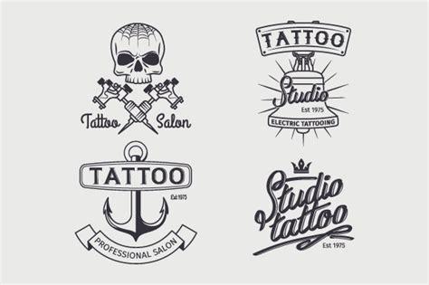 tattoo logo template tattoo studio logo template psd 187 designtube creative