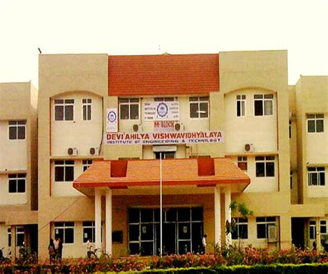 Davv Affiliated Mba Colleges In Indore by Institute Of Engineering And Technology Devi Ahilya
