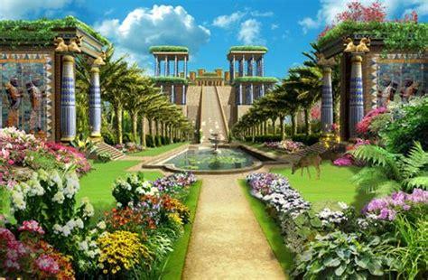 imagenes de jardines antiguos jardines colgantes de mesopotamia disenodejardines