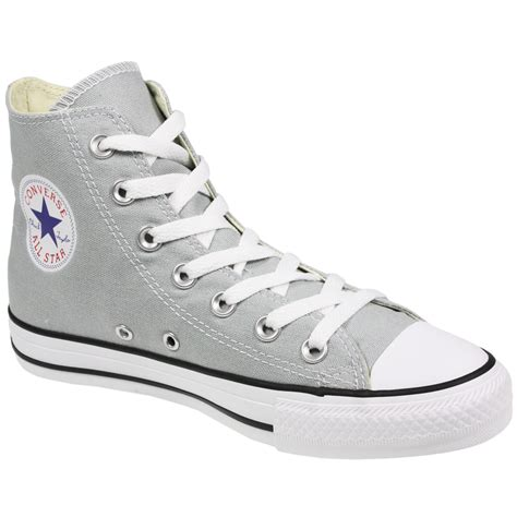 Conversehigh Grey Ct2 converse all chuck 136563 hi top canvas grey boots size uk 5