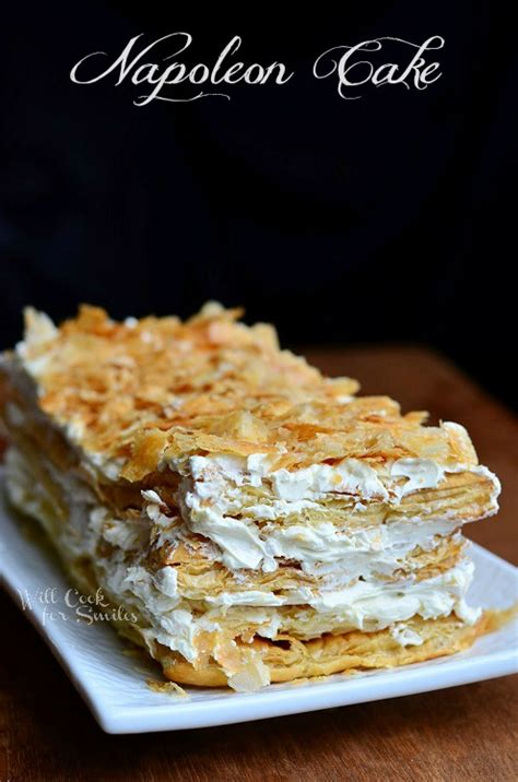 napoleon cake will cook for smiles