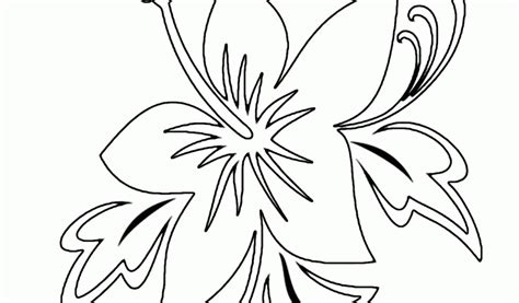free coloring pictures of tropical flowers coloring pages tropical coloring home