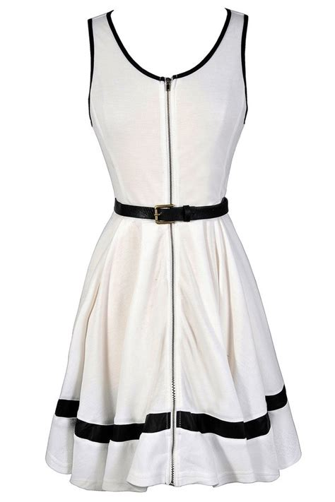 Made Me Ivory And Black Dress black and ivory belted dress black and ivory dress