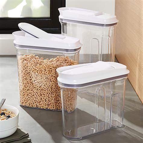 Oxo Pop Cereal Dispensers C E And Barrel