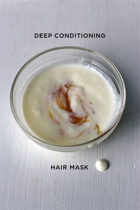 Weekly Or Biweekly Conditioning Hair Mask by Diy Conditioning Yogurt Honey Hair Mask