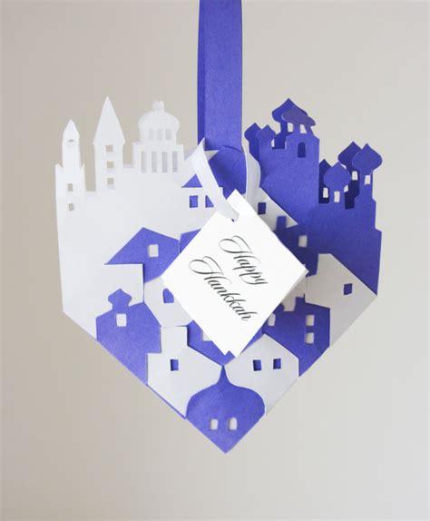 Handmade Hanukkah Cards - simple handmade hanukkah greeting cards family