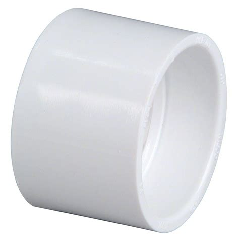 nibco 1 1 2 in pvc dwv hub x hub coupling bag of 10