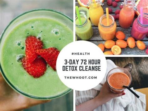 72 Hour Detox by 72 Hour Juice Cleanse Recipes