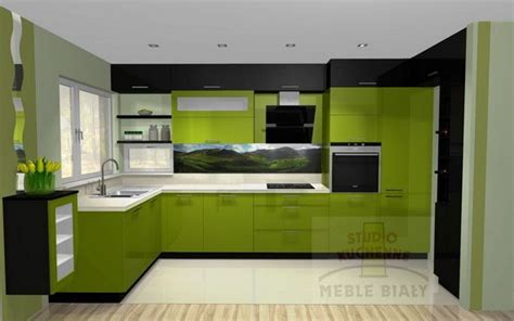 green black kitchen for the home pinterest