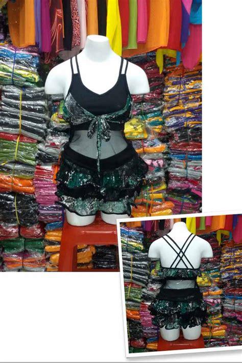 Rok Rempel Hitam By Betjeans baju senam model rok rempel baju senam murah grosir dan